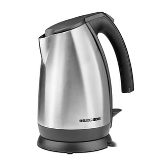 Black & Decker JKC650 Stainless Steel/Black Smart Boil 1.7-liter Electric Kettle