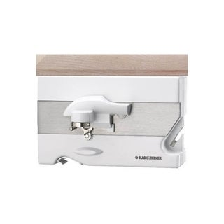 Black & Decker CO85 White Spacemaker Can Opener