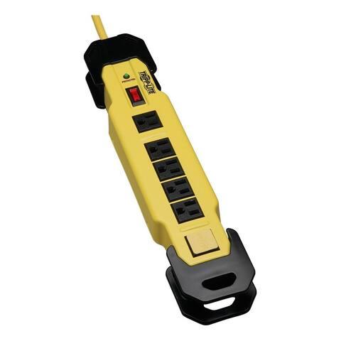 Tripp Lite Safety Surge Protector Strip 120V 6 Outlet 15' Cord OSHA
