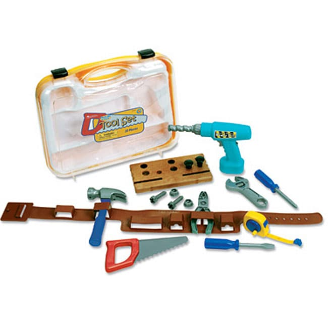 Pretend & Play Work Belt and Tools Set
