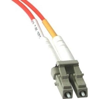 6m LC-SC 62.5/125 OM1 Duplex Multimode PVC Fiber Optic Cable - Orange