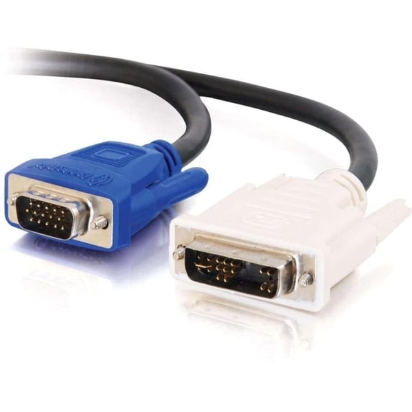 C2G 3m DVI Male to HD15 VGA Male Video Cable (9.8ft)