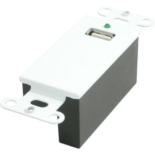 C2G USB Superbooster Wall Plate Kit