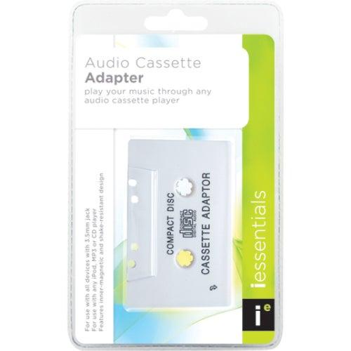 Mizco International Audio Cassette Adapter, White