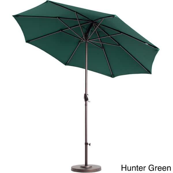 Shop Lauren Company Premium Olefin 9 Foot Patio Umbrella