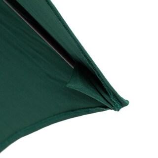 Lauren & Company Fiberglass Olefin Crank and Tilt 9-foot Umbrella