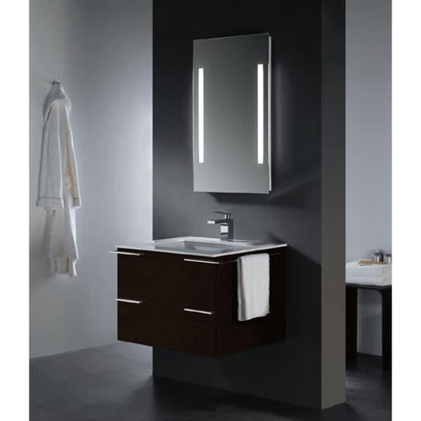 Vigo Wenge Vanity Set with Kohler Sink. Vigo Wenge Vanity Set with Kohler Sink   Free Shipping Today