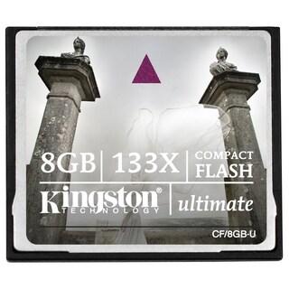 Kingston 8GB Ultimate Compact Flash 133X Memory Card