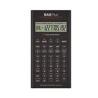 Texas Instruments TI BA II Plus Professional Financial Calculator|https://ak1.ostkcdn.com/images/products/3214025/P11329060.jpg?impolicy=medium