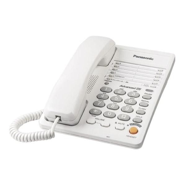 Panasonic KX-TS105W Standard Phone - White