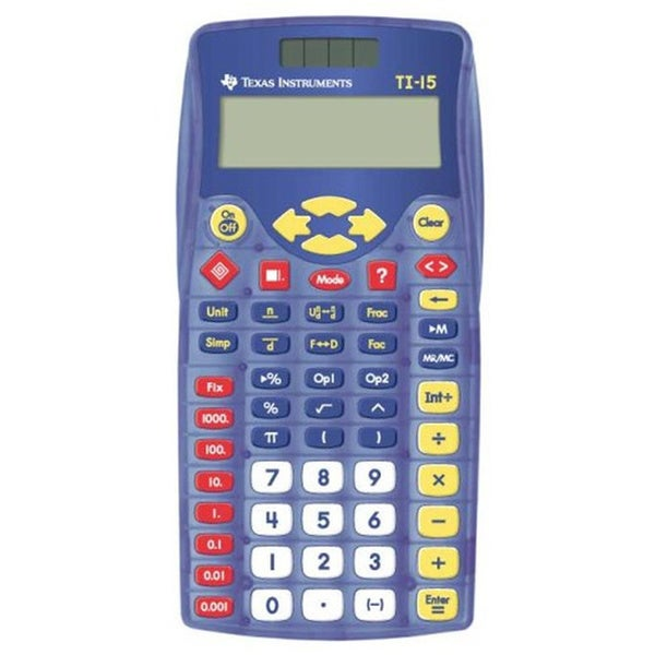 Shop Texas Instruments Ti 15 School Calculator Free