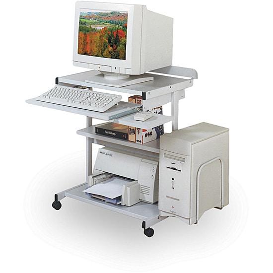 Balt Compact Mobile Workstation Desk