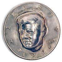 American Coin Treasures JFK 3-dimensional Half Dollar