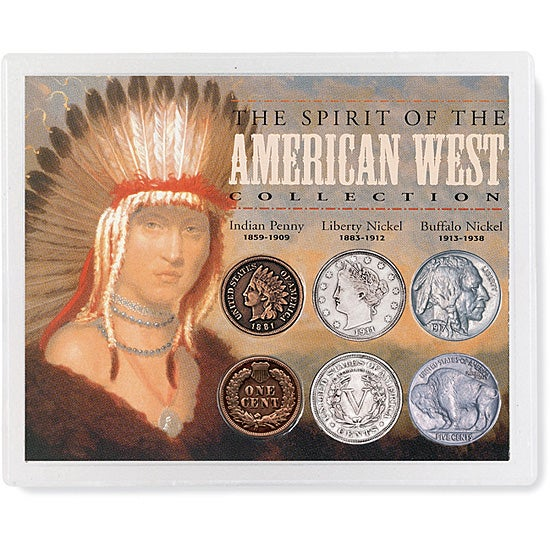 American Coin Treasures Spirit of the American West' Coin...