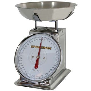 Stainless Steel 44-pound Kitchen Dial Scale|https://ak1.ostkcdn.com/images/products/3220484/3220484/Stainless-Steel-44-pound-Kitchen-Dial-Scale-P11334361.jpeg?impolicy=medium