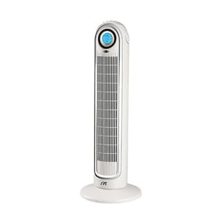 Sunpentown Compact Remote Controlled Tower Fan