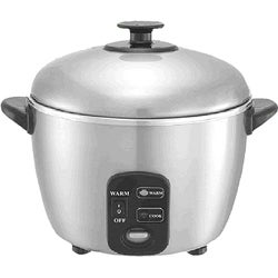 SPT Stainless Steel 10-cup Rice Cooker/ Steamer