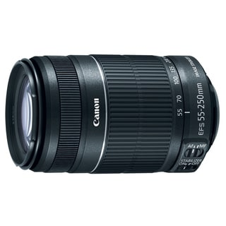Canon EF-S 55-250mm f/ 4-5.6 IS Telephoto Zoom Lens
