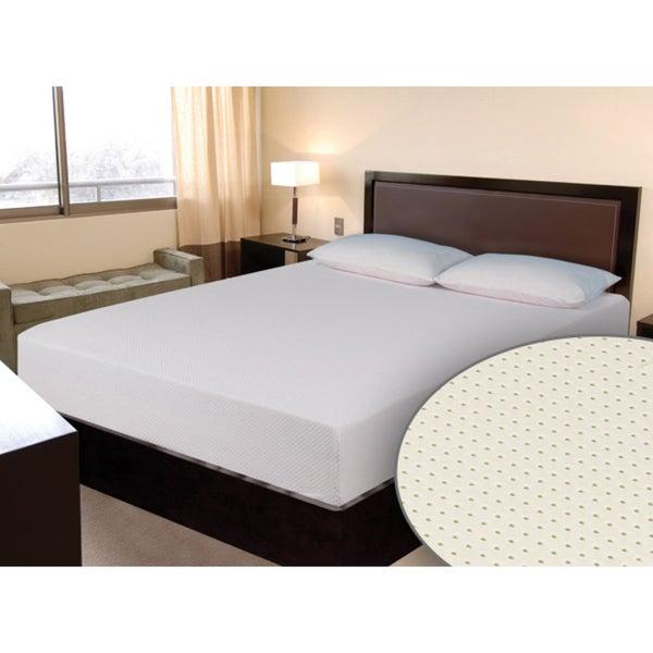 Select Luxury E.C.O. All Natural Latex Medium Firm 8-inch Twin XL-size Hybrid Mattress