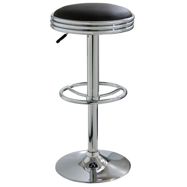 AmeriHome Soda Style Adjustable Padded Barstool