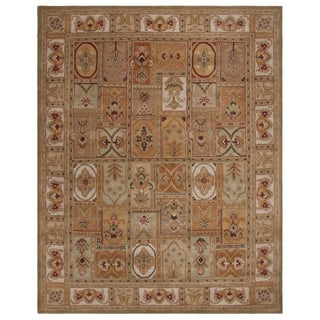 "Safavieh Handmade Classic Empire Wool Panel Rug - 7'-6"" x 9'-6"""