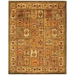 Safavieh Handmade Classic Empire Wool Panel Rug (8'3 x 11') - Thumbnail 0