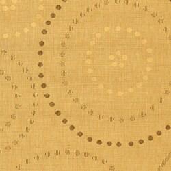Safavieh Ocean Swirls Natural/ Brown Indoor/ Outdoor Rug (6'7 x 9'6) - Thumbnail 1