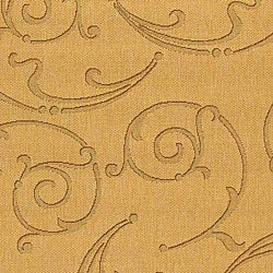 Safavieh Oasis Scrollwork Natural/ Brown Indoor/ Outdoor Rug (6'7 x 9'6) - Thumbnail 1