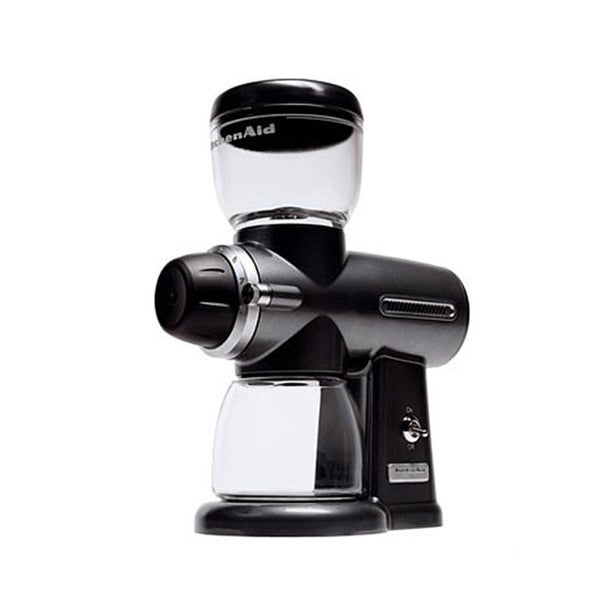 KitchenAid KPCG100OB Onyx Black Pro Line Burr Coffee Mill