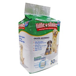 Little Stinker 50-pack Housebreaking Ultra Thin Stay-dry Top Pads