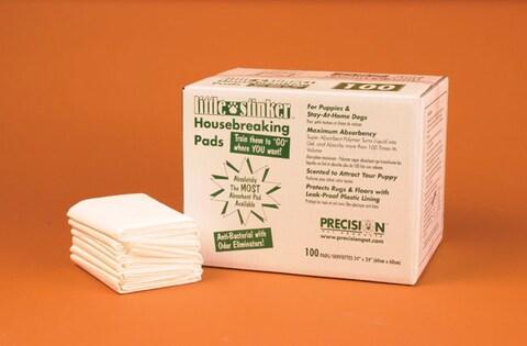 Precision Pet Little Stinker 100-pack Housebreaking Pads - 24 X 24