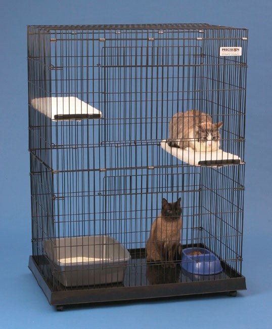 Precision Pet Large Cat House Amp Enclosure Free Shipping
