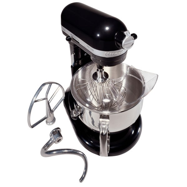 KitchenAid KL26M8XOB Onyx Black Pro Line 6-quart Stand Mixer