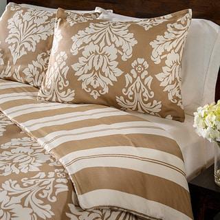 Havana Floral Reversible 3-piece Duvet Cover Set