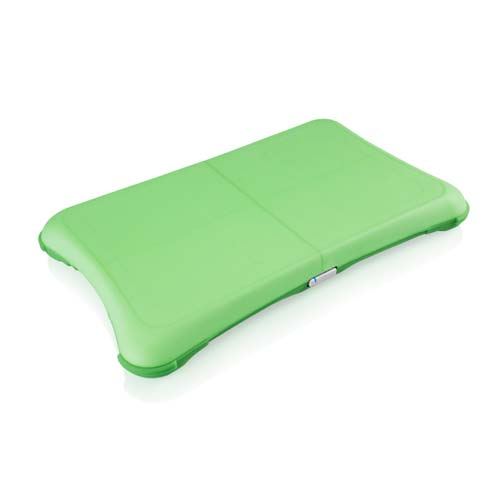 Green Glow Silicone Sleeve for Wii Fit Balance Board