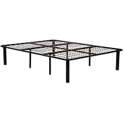 Black Steel King-size Mattress Bed Frame