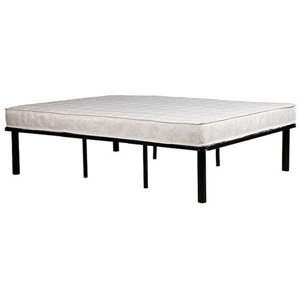 Shop Handy Living Black Metal Bed Frame King - Free Shipping Today ...