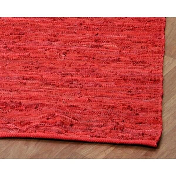 Handmade Elite Flatweave Rug (4' x 6') - 4' x 6'