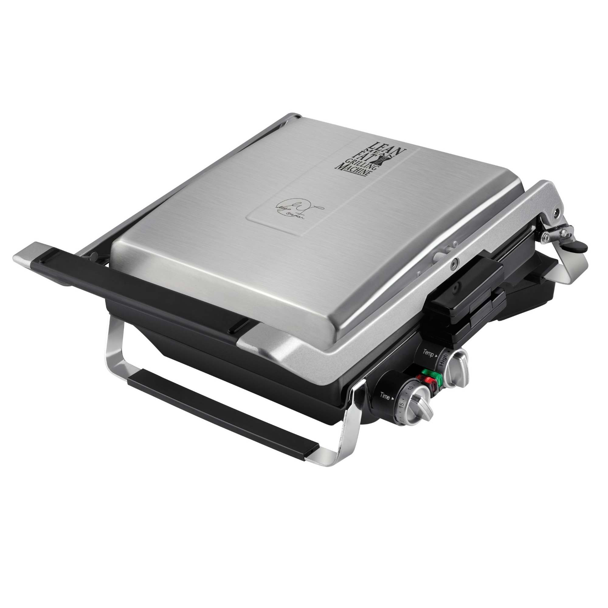 George Foreman GRP100 Stainless Steel Nonstick Countertop Grill