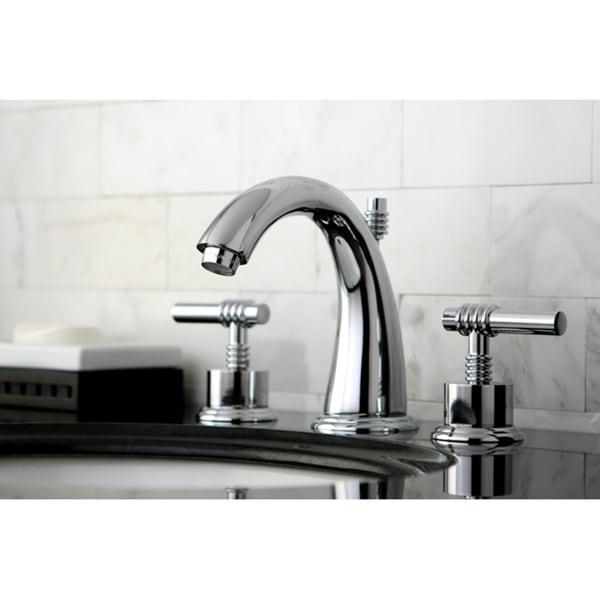shop milano widespread chrome bathroom faucet free shipping today 3233755