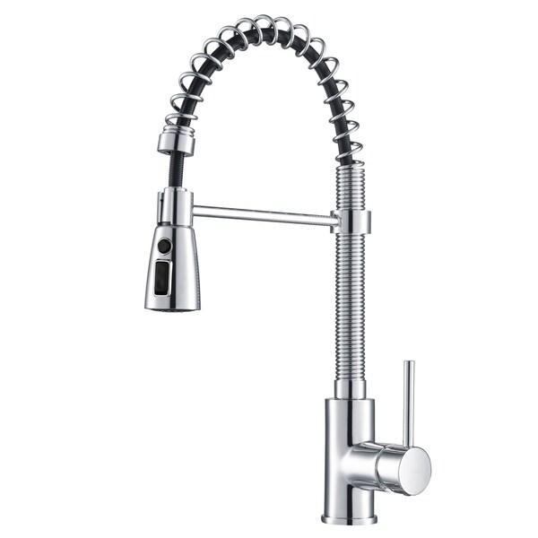 shop kraus kpf 1612 commercial style 1 handle 3 function sprayhead rh overstock com overstock moen kitchen faucets