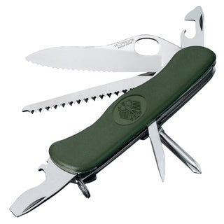 Victorinox Swiss Army One-hand Trekker German Army Pocket Knife