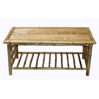 Handmade Bamboo Coffee Table (Vietnam)
