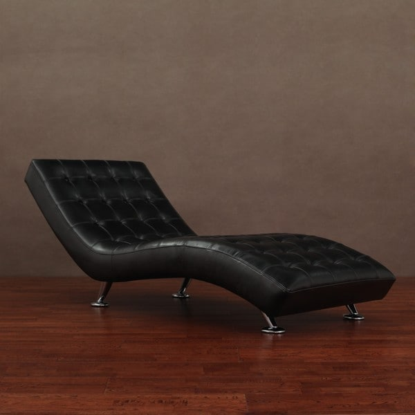 Sevilla Black Chaise Lounger