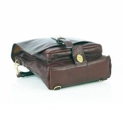 Aston Leather Convertible Messenger Bag