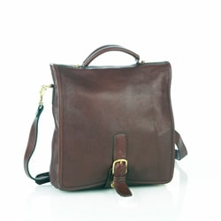 Aston Leather Convertible Messenger Bag