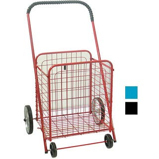 Medium Shopping Cart with Rubber Wheels|https://ak1.ostkcdn.com/images/products/3238162/P11348622.jpg?impolicy=medium