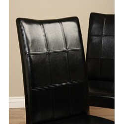 Eveleen Black Dining Chair (Set of 2) - Thumbnail 1
