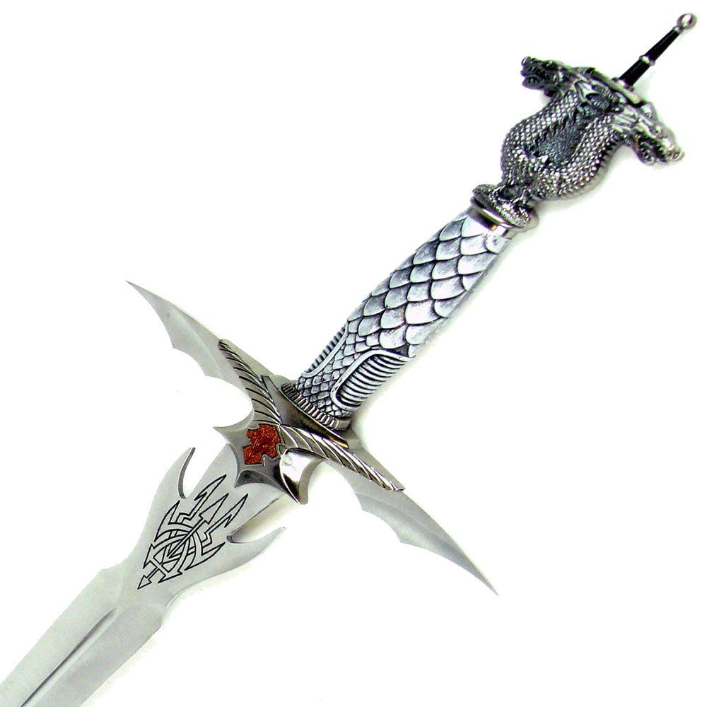 Labor Day Furniture Sale >> Authentic Celtic Dragon Longsword - Free Shipping Today - Overstock.com - 11349487