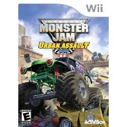 Wii - Monster Jam: Urban Assault